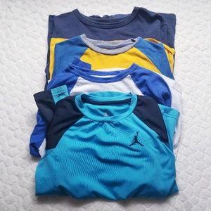 Boys long sleeved tee top shirt marvel Nike 7/8